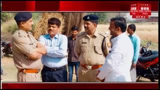 [uttar pradesh]/Statue of Dr. Bhimarov Ambedkar broke by the chaotic elements in Nagla Nande