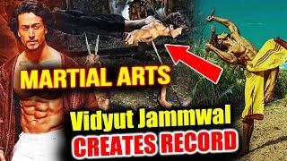 Vidyut Jamwal BEATS Tiger Shroff, Makes Record In Martial Arts