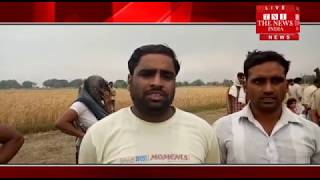[UTTAR PRADESH]/Natural disaster has flooded a poor farmer's hard work every year.