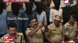 SOUTH ZONE POLICE ARRESTED 7 MEMBERS GANG INVOLVED IN DACOIT