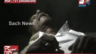 A MAN HIT A SCOOTER ON DIVIDER & SPOT DEATH AT PURANAPUL, HYD.