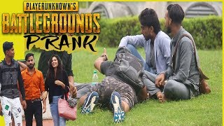 PUBG Prank in India | PUBG in Real Life | ANBTEAM