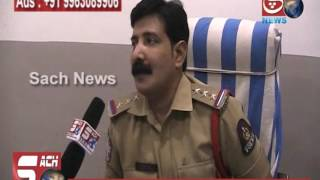 KALAPATHER PS INSPECTOR RUDRA BHASKAR GIVING BEST WISHES TO SACH NEWS