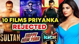 Top 10 Films Priyanka Chopra Rejected Including Salman Khan's BHARAT   Sultan, Happy New Year