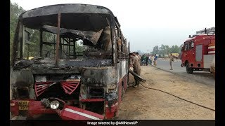 Bareilly accident, 22 dead, 15 injured in bus-truck crashes | @ SACH NEWS |