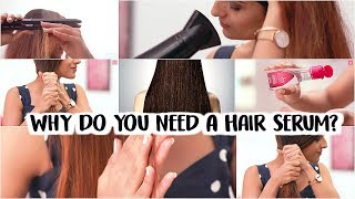 How To PROTECT Hair By Using Serum Before & After Heat/ Healthy Hair Care Tips & Tricks
