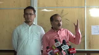 Gaurav Gogoi and Adhir Ranjan Chowdhury addresses media on Draft of Assam's NRC