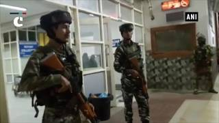 Jammu & Kashmi: 3 CRPF jawans injured in terrorist attack in Anantnag