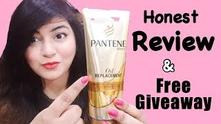 Get Silky Smooth Straight Hair | Pantene Oil Replacement Review - Demo | Free Giveaway | JSuper Kaur