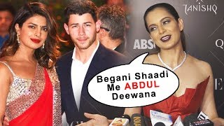 Begani Shaadi Me Abdul Deewana, Kangana Ranaut FUNNY Reaction On Priyanka-Nick Wedding