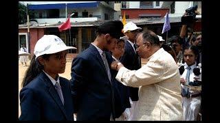Batch Ceremony In Oxford Grammar School Himayathnagar , Hyd | @ SACH NEWS |