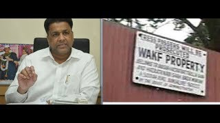 Waqf Bord Chairman Md. Saleem In Action Against Waqf Land Grabbers | @ SACH NEWS |