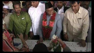 Aimim Mla Ahmed Pasha Quadri Distributed Sewing Machines At Moghalpura Hyd |@ SACH NEWS |