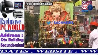 Ganesh Immersion - Charminar Old City   @ SACH NEW    (video id -  341596987d30cc)