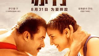 Salman Khan Sultan Chinese Poster Revealed