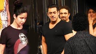 Salman Khan And Katrina Kaif BACKSTAGE Rehearsing For RAMP WALK At Manish Malhotra Fashion Show