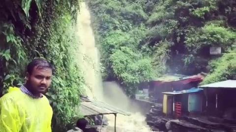 Bhagsunag Waterfalls, Dharamshla - Video by Simran Nainta