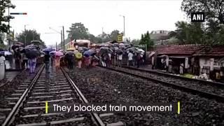 "West Bengal: Matua Mahasangha stage ""rail roko andolan"" against Assam NRC"