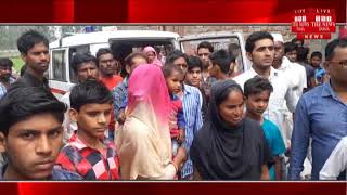 Moradabad: Severe roof of cement ceilings caused by severe storm THE NEWS INDIA