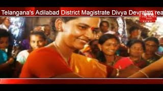 Adilabad District Magistrate Divya Devarajan reached Mali's daughter's wedding THE NEWS INDIA