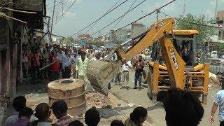 District Administration Samba conducts anti-encroachment drive at Vijaypur
