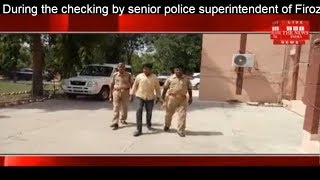 During the checking by senior officer of Firozabad, arrested on-spot Max looted car THE NEWS INDIA