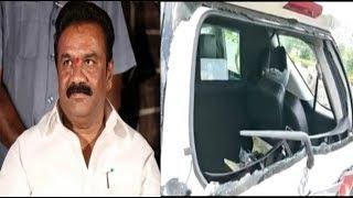 Lorry Hits Minister Talasani Srinivas Yadav Car At Keesara Road    @ SACH NEWS  
