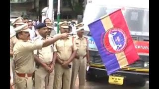 Dcp South Zone V Satyanarayana Flags Off 2nd Indian Police Martyr's Memorial  Awareness Run .