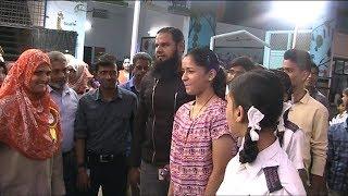 Table Tennis Champion Naina Jaiswal And Mutasham Visits Asian Grammar Institute | @ SCAH NEWS |