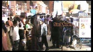 Rowdy Shetters Are Harassing Street Vendors At Ameerpet Near Klm Fashion Hyderabad | @SACH NEWS |