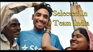 Mohd Siraj Got Selected In Team India For The Series Of India VS Newzealand | @ SACH NEWS |
