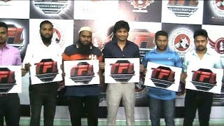Telangana Fight League Poster Launched By Congress Youth Leader Mohd Irfan   @ SACH NEWS  