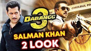 Salman Khan To Have 2 Different Looks In Dabangg 3