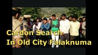 Cardon Search By Dcp South Zone In Old City Falaknuma 67 Members Taken In Custody | @ SACH NEWS |