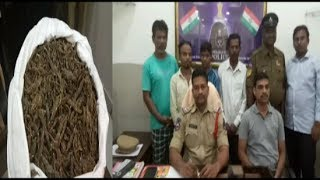Ganja Seized In Huge Amount And 3 Persons Arrested By Hyderabad West Zone Task Force .