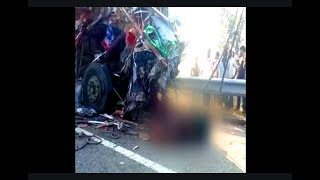 3 Persons Died In Road Accident | Lorry Hits Lorry In Sangareddy Telangana | @ SACH NEWS |
