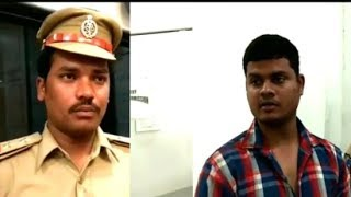 Trs Leader Attacks On Police Officer In Hyderabad Madanapet | @ SACH NEWS |