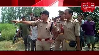 [ Aligarh News ] Sense of getting residue of cattle in Aligarh Police station Grabana