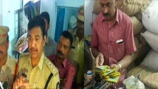 Seed Gowdawn Seized By Police & Agriculture Officers By Sudden Raid In Hyderabad Rein Bazar.