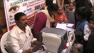 Free Medical Camp Organised By Aam Admi Party In HyderabadGoshamal   @ SACH NEWS  