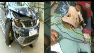 Road Accident Kills One Women At Jubliee Hills Hyderabad   @ SACH NEWS  