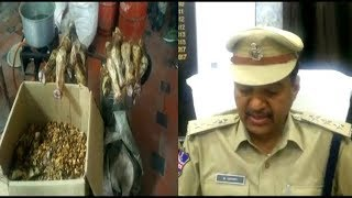 Making Duplicate Oil With Animals Fat | Oil Maker Arrested By Hyderabad Rein Bazar Police |