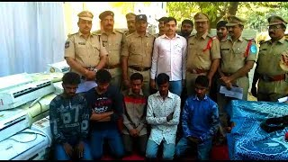 ATM Ac Robbers Gang Arrested By Hyderabad East Zone Police | @ SACH NEWS |