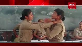 [ Gonda News ] School girl students are being educated about anti-Romeo campaign in Gonda