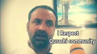 Khaja Bilal  Gives Clearance On The Case Booked On Him By Qurashi Community.