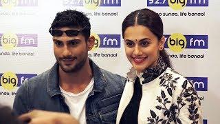 Taapsee Pannu And Prateik Babbar At Big FM92 | MULK PROMOTION
