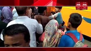 [ Agra News ] Live video of beating boyfriend girlfriend in Agra is getting viral / THE NEWS INDIA