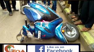 Mother and Daughter died on the spot in accident at Mapusa