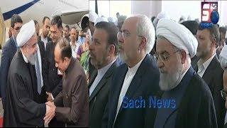Iran President Hassan Rouhani In Hyderabad |  Offers Prayers At Makkah Masjid |