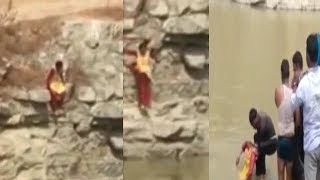 Girl Suicides By Jumping In Lake In Jagadgirigutta Hyderabad   @ SACH NEWS  